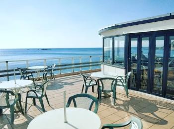 【海が見えるカフェ】横須賀・秋谷のプラージュスッド