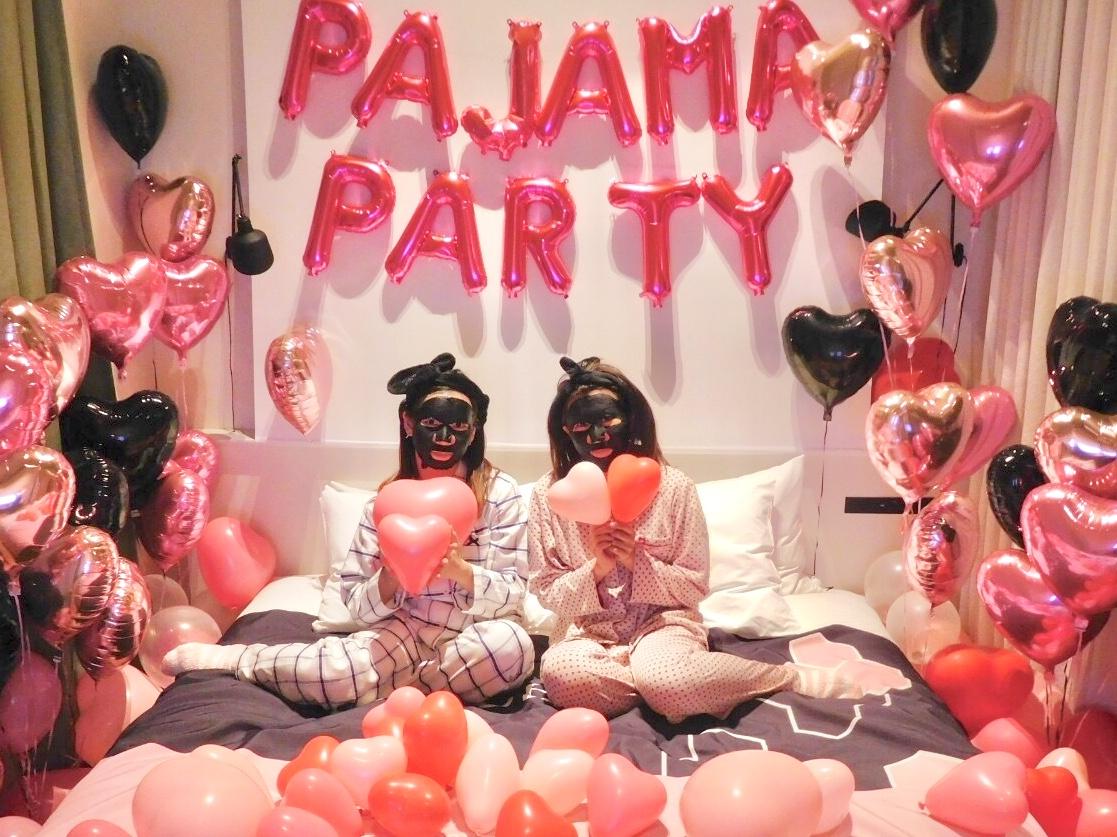 【今週のパック特別編】ALFACE+(オルフェス)パジャマパーティーに参加しました_2