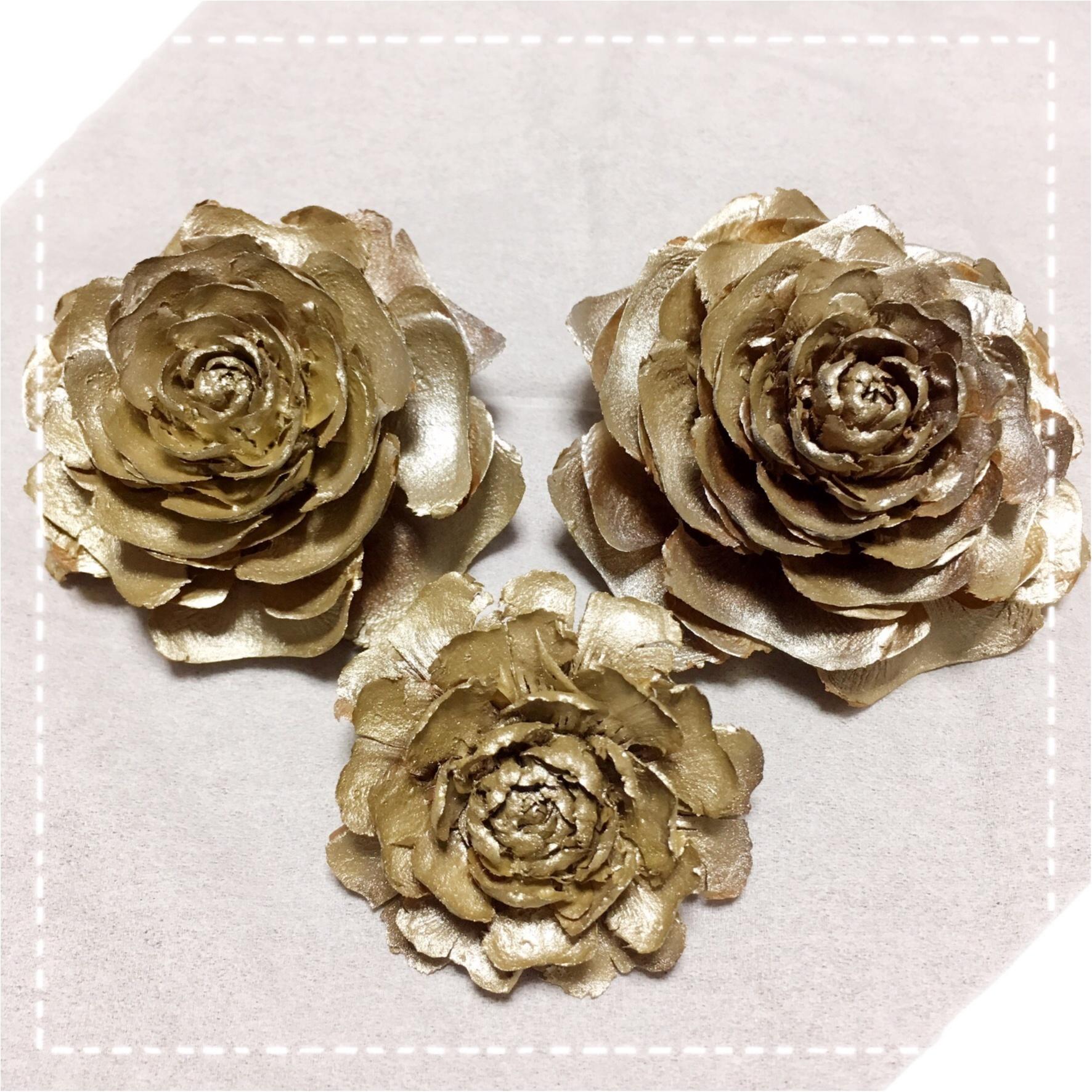 クリスマスにぴったり♡薔薇の形をした天然の松ぼっくり『シダーローズ』をあなたはご存知ですか?_2