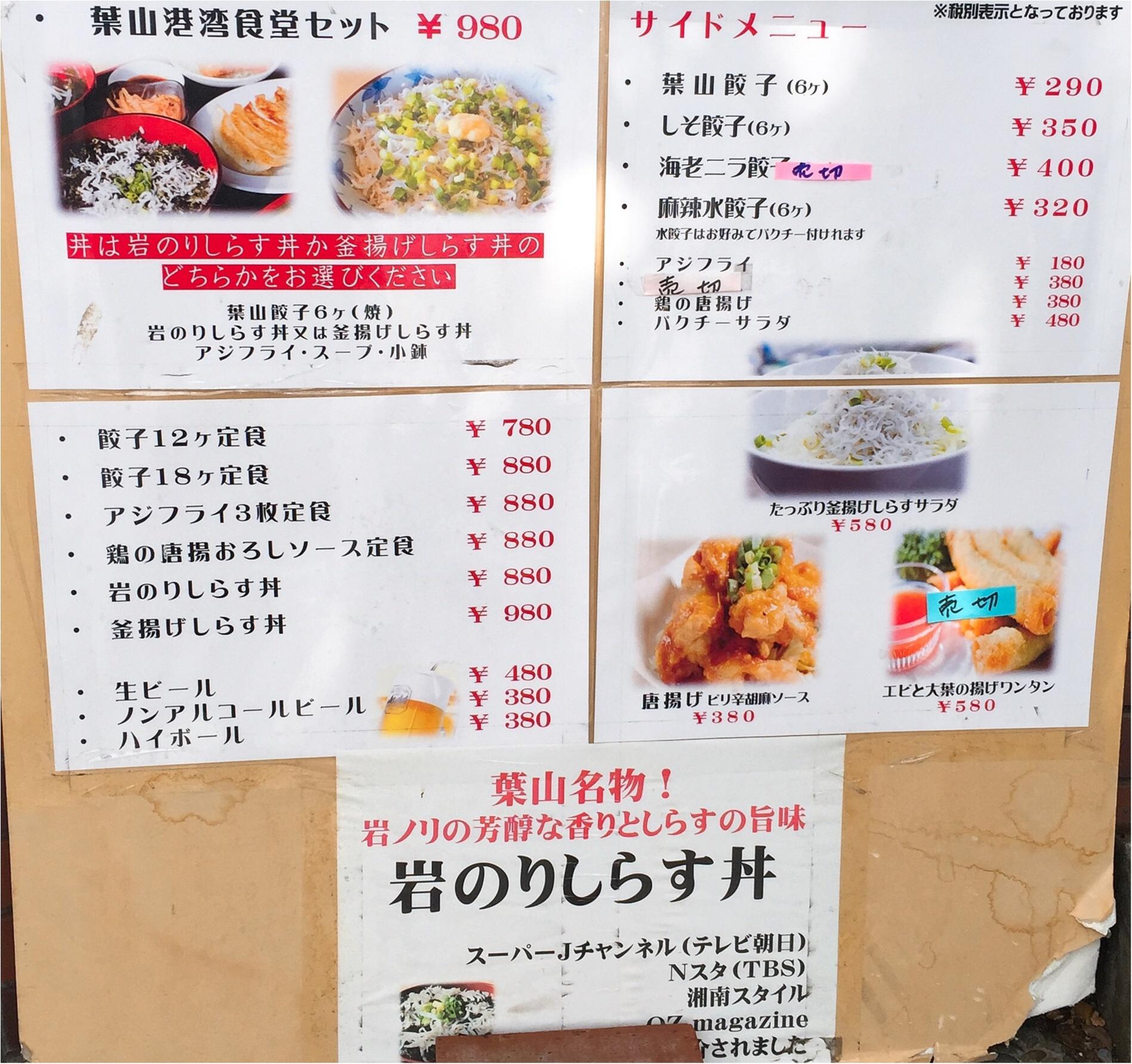 【神奈川・葉山】中華街重慶飯店元料理長が作る「葉山餃子&しらす丼」を堪能♩≪samenyan≫_6