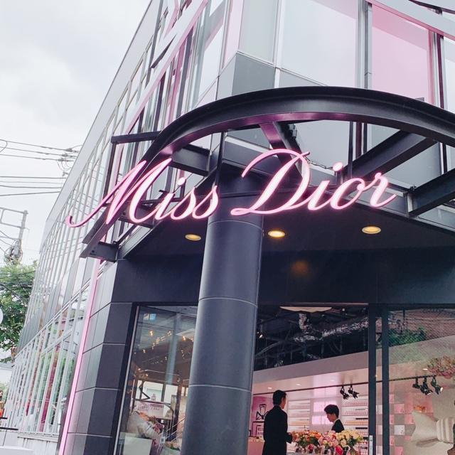 表参道「MISS DIOR LOVE N'ROSES ミス ディオール展覧会」♡_1
