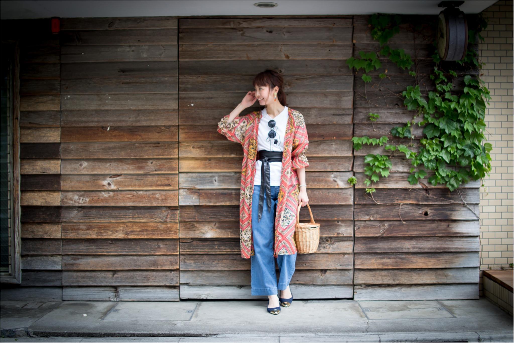 夏らしい☆1枚あると便利なロングシャツ。_2