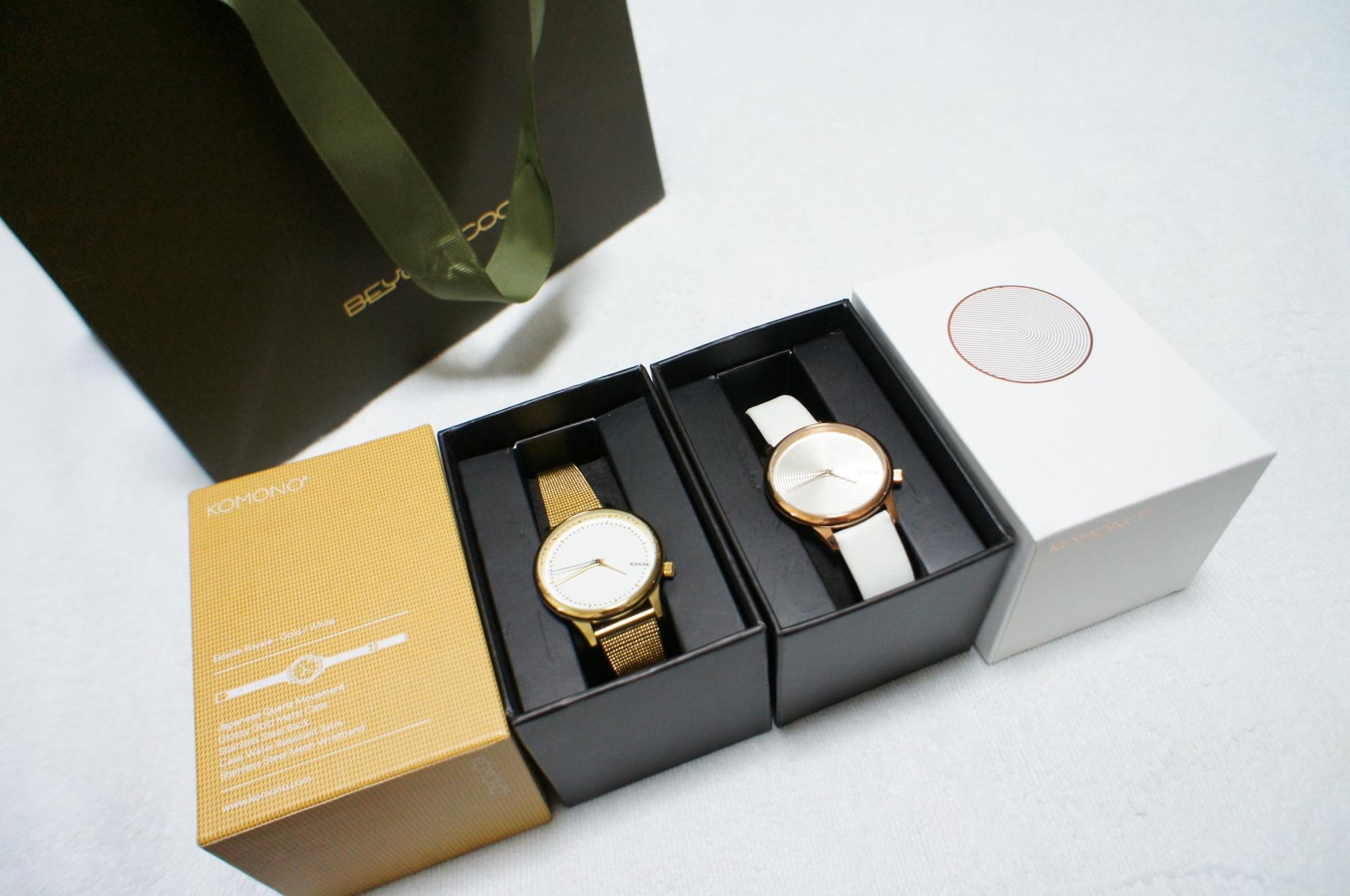 《買ってよかった福袋❤️》【KOMONO】の腕時計が2本で¥11,000でした☻!_1
