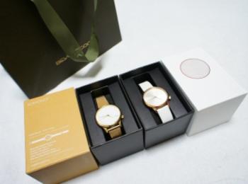 《買ってよかった福袋❤️》【KOMONO】の腕時計が2本で¥11,000でした☻!