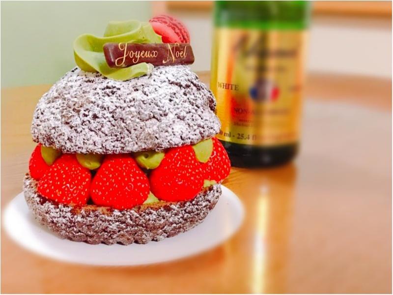今年のクリスマスケーキはこれにしました♡_1
