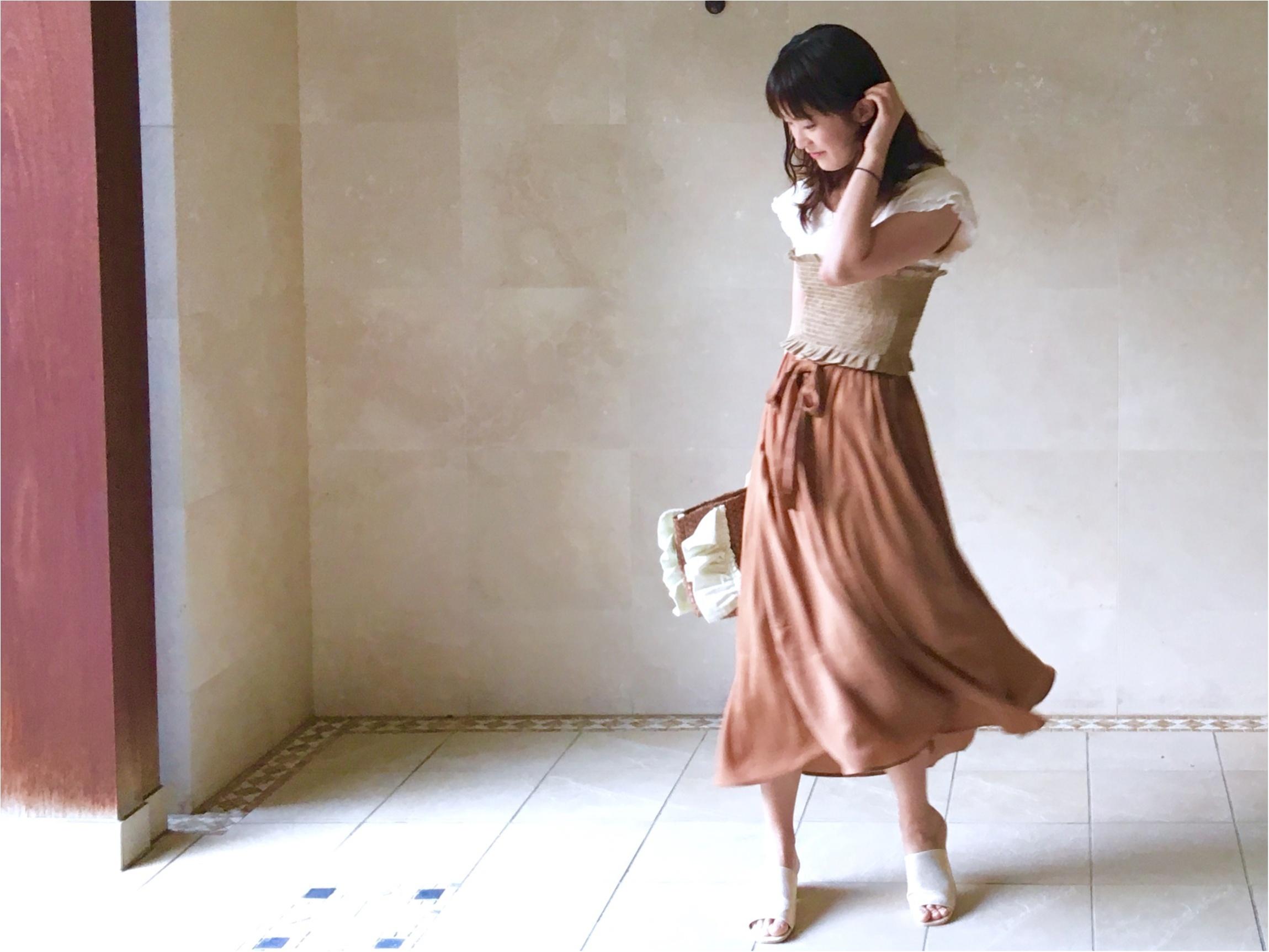 【GU】着ていると褒められる《高見えスカート》❤️¥1500で今から秋まで着倒せます!_3