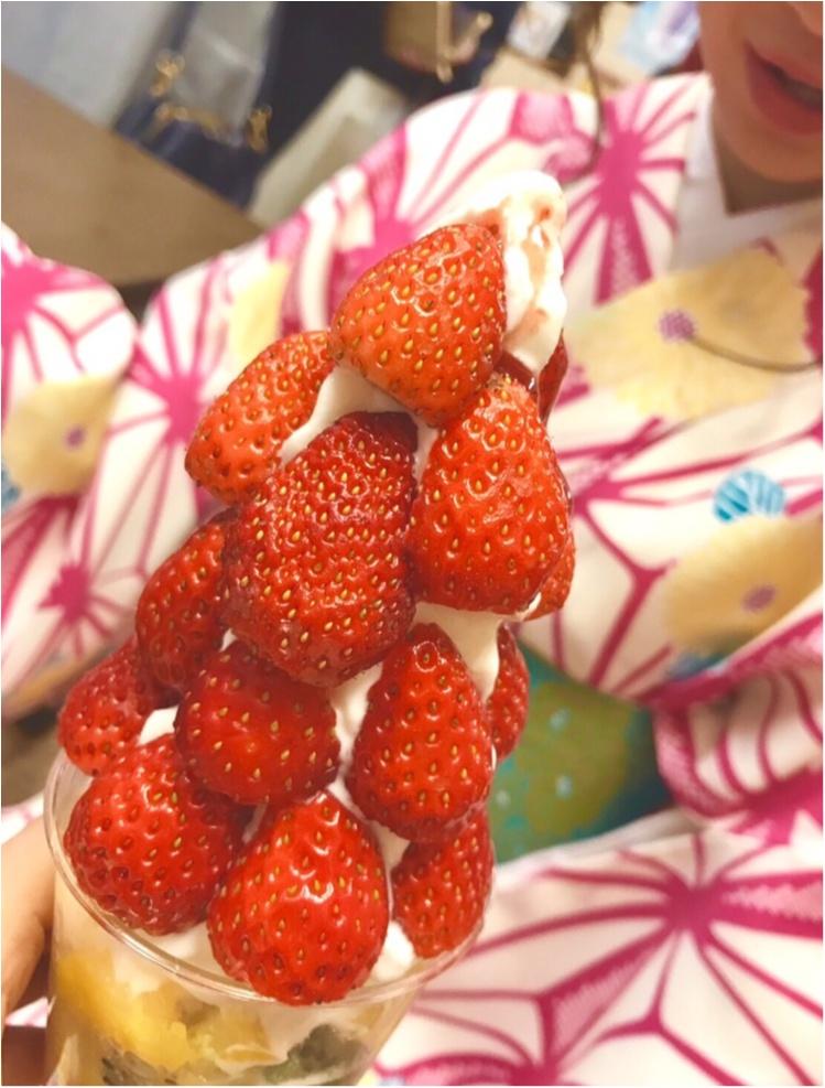 【FOOD】 まだまだ苺に夢中です♡買わずにはいられない!盛りパフェ苺があるのはココッ♡!_6