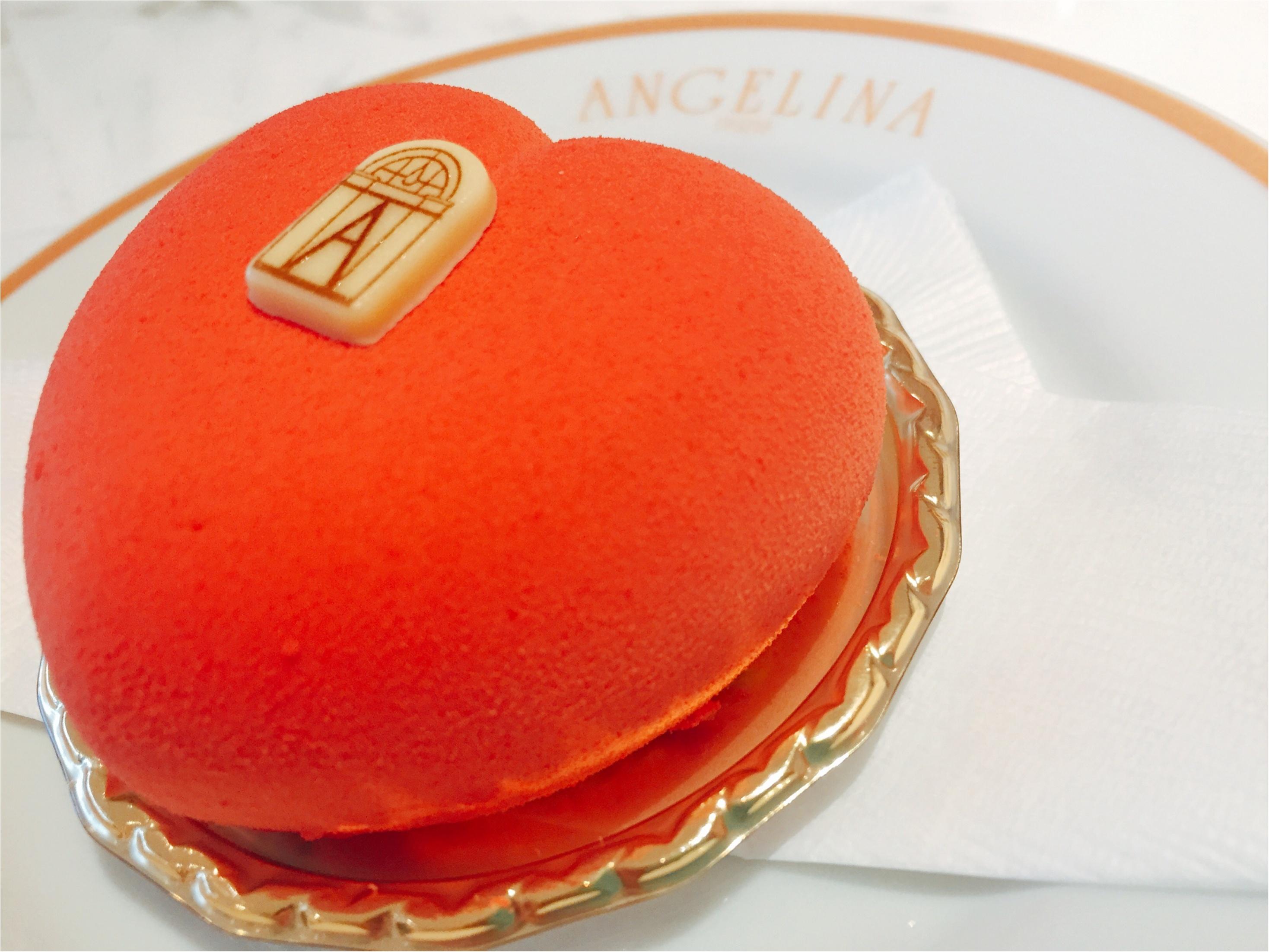 【バレンタイン限定】1903年創業のパリ老舗サロン「ANGELINA」のハート♡ケーキが可愛すぎて食べるのがもったいない!!_6_3