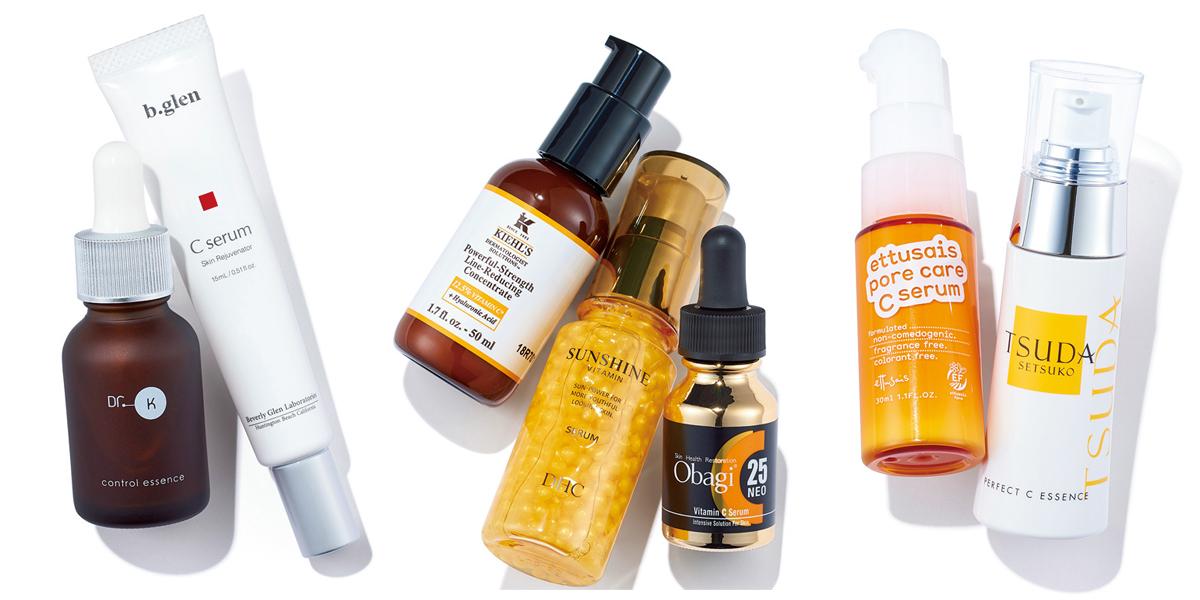 ビタミンC誘導体入りスキンケア特集 - 美白ケアやシミ、毛穴、ニキビなどの肌悩みへのおすすめは?_1