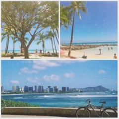 突然ですが、ハワイから更新中♡ 「ツール・ド・東北」に向けて…レンタサイクルで今、一番熱いストリートへGO!【#モアチャレ さえ】