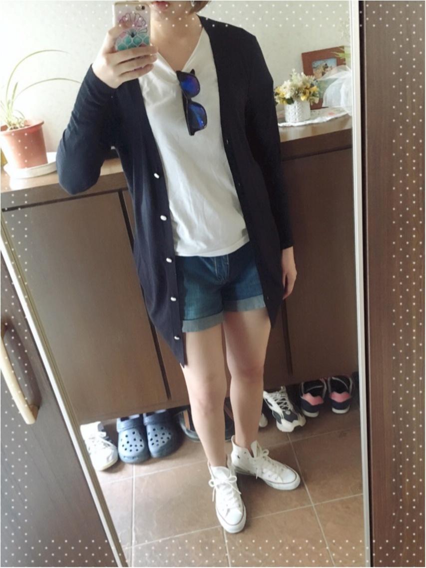 ◆◇紫外線&冷え対策◇◆MORE掲載!オリジナルブランド FlowerDaysのロングカーデを着てみました♪_1