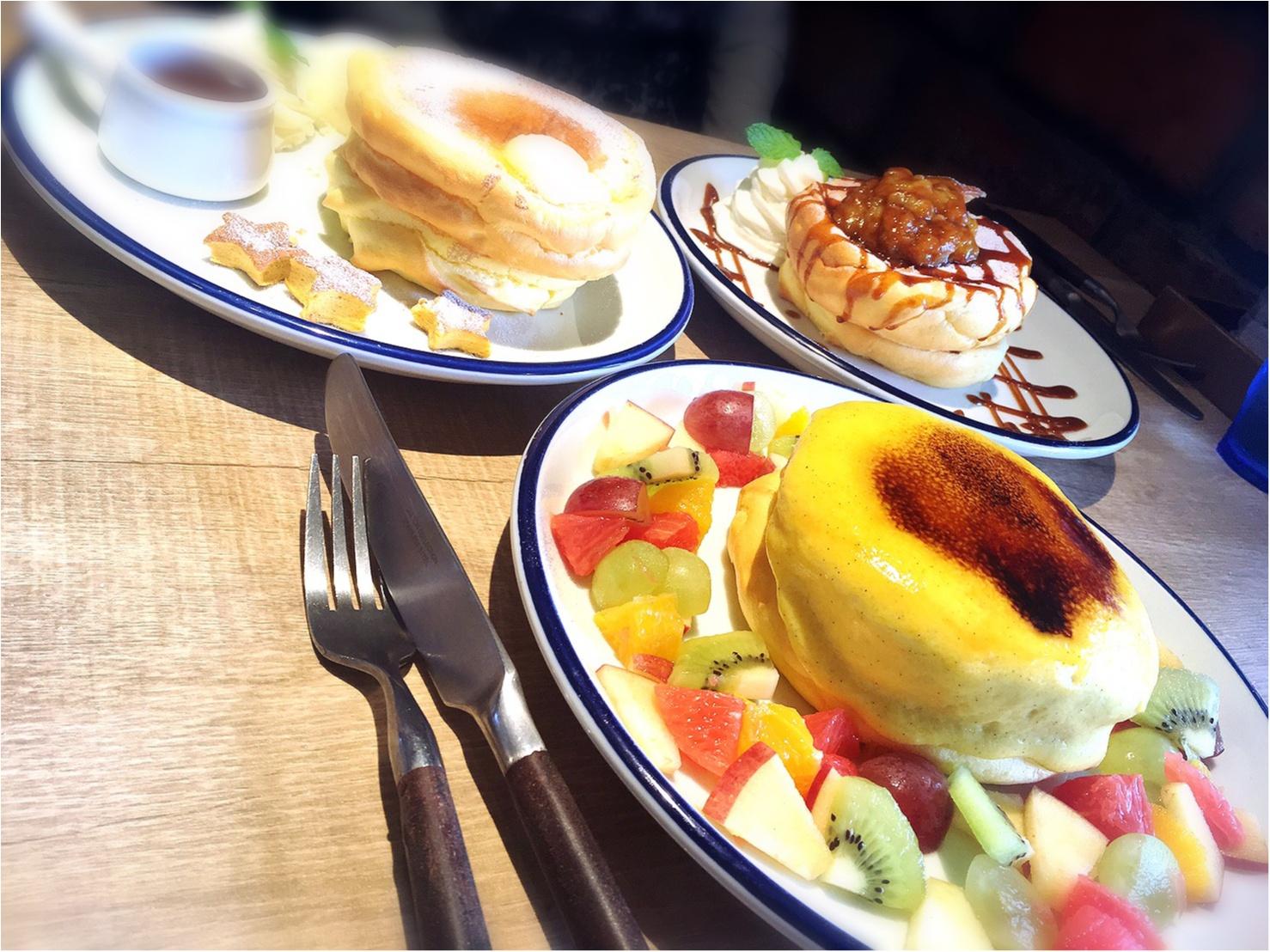 【武蔵小杉】とろぉ〜ふわぁ〜。雑誌で見かけて食べたかったクリームブリュレパンケーキ!_7
