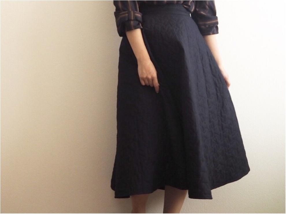 【UNIQLO】『キルトスカート』のシルエットがかわいすぎるんです!♡【JW ANDERSON】_1