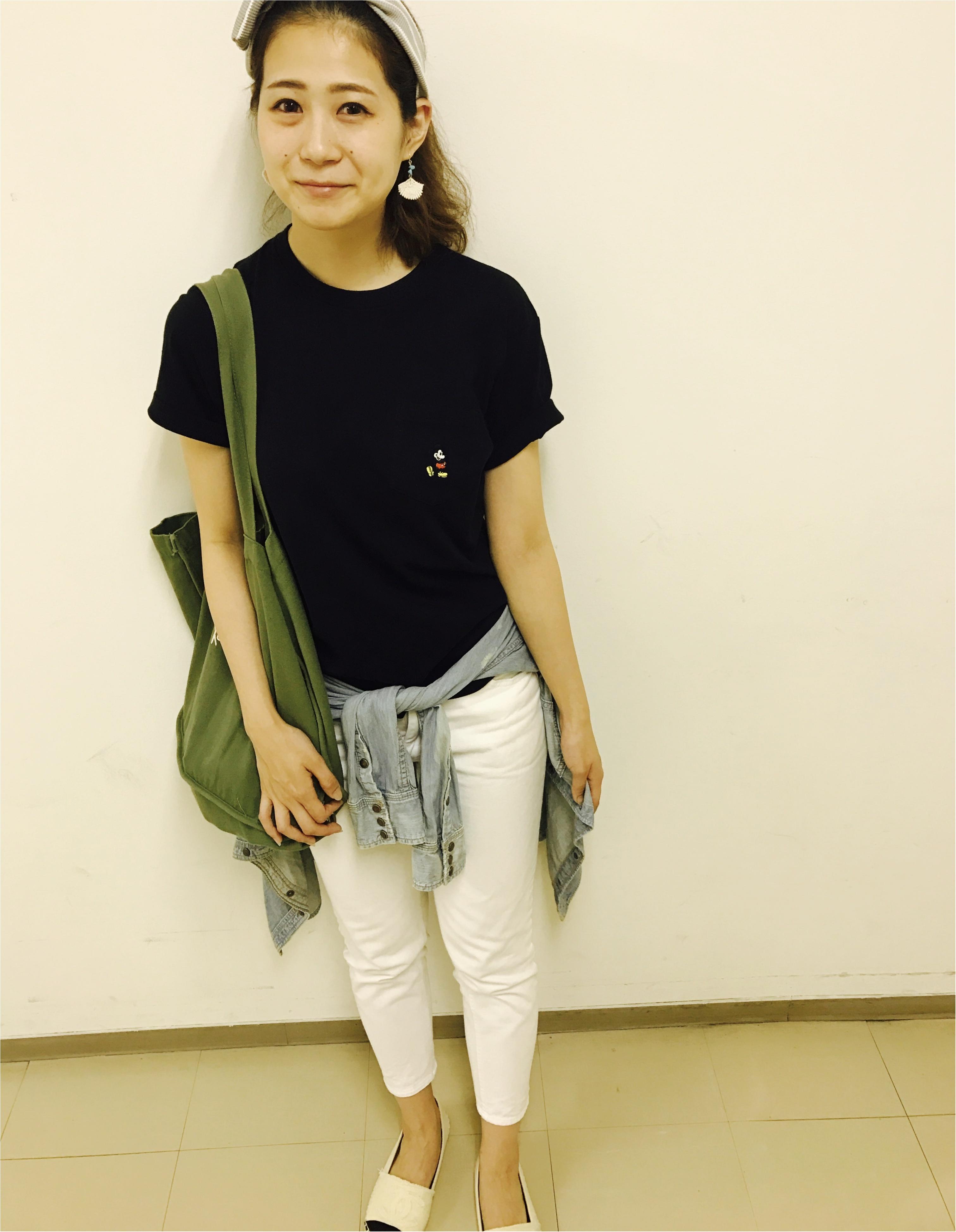Tシャツでおしゃれを!UTで気軽にカジュアルリンクコーデ♡_1