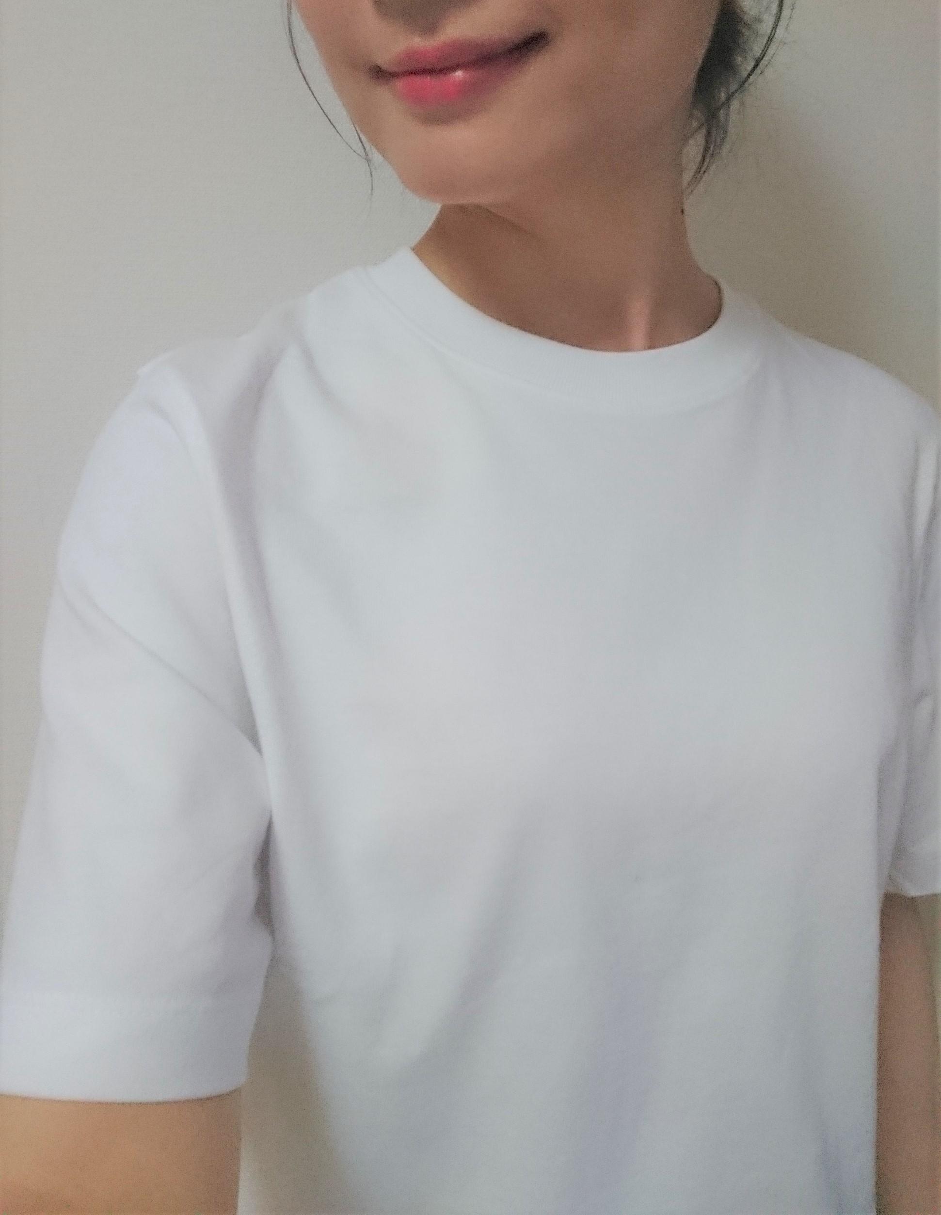 白Tシャツはコスパ抜群の UNIQLO(ユニクロ)☆_1