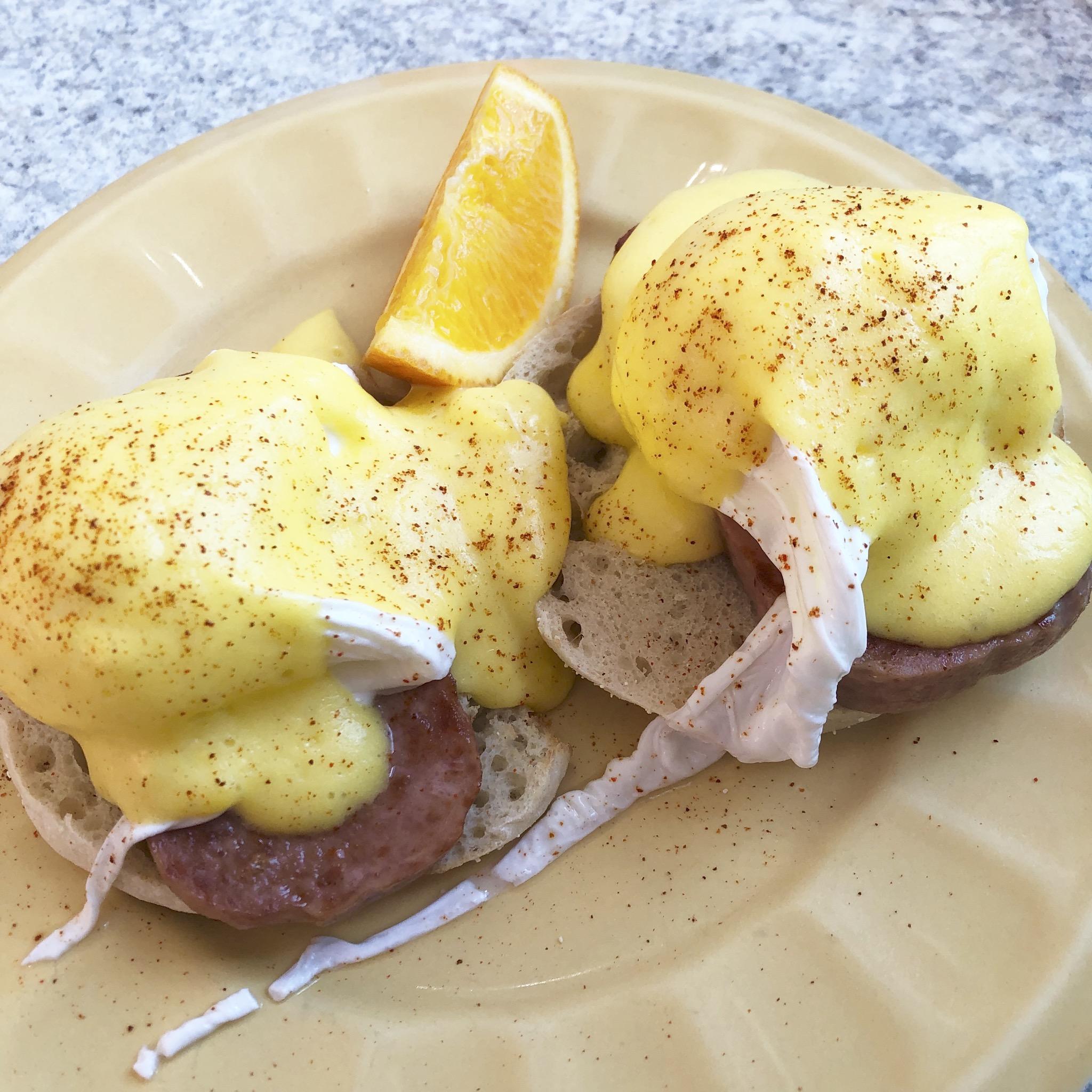 【グアム旅#2】とろふわっ食感♡the Kracked Eggで幸せ度120%の朝食を♩_4