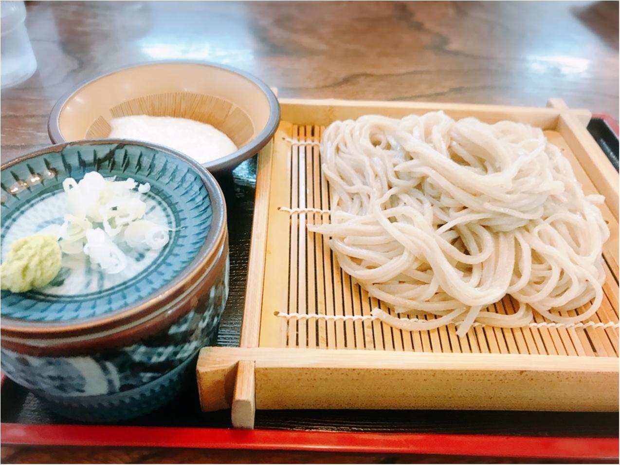 《長瀞グルメ》ライン下りのあとはココ♡「生そば たむら」の絶品お蕎麦と◯◯揚げ!_3_2