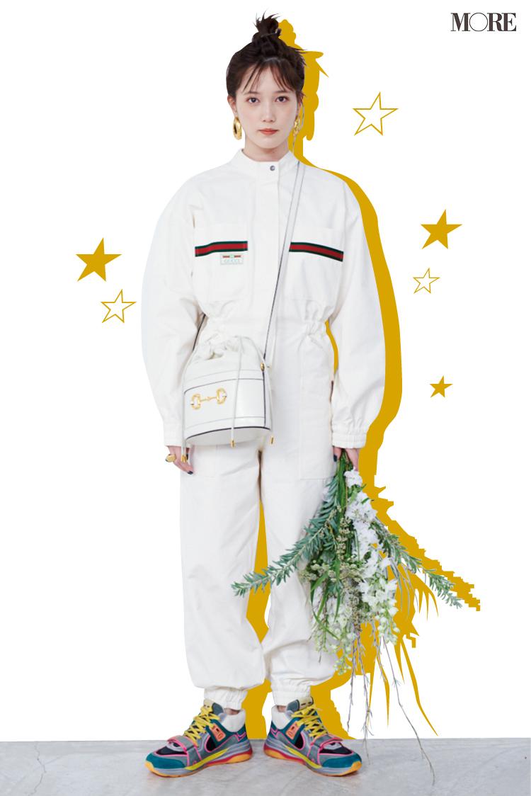 本田翼が宇宙に出発!? 『グッチ』のジャンプスーツがお似合いです♡【モデルのオフショット】_1