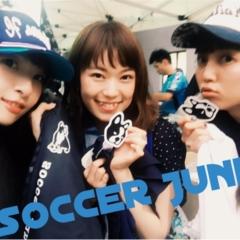 ▶▶サッカー観戦がアツイ♪<地元!!横浜FC戦>と真っ黒コーデ【はるな】