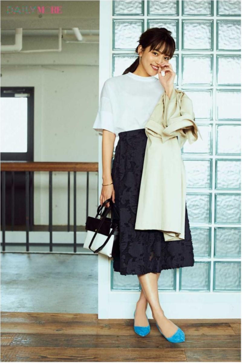 低めヒール靴のオフィスカジュアルコーデ 2018年版 Photo Gallery_1_8