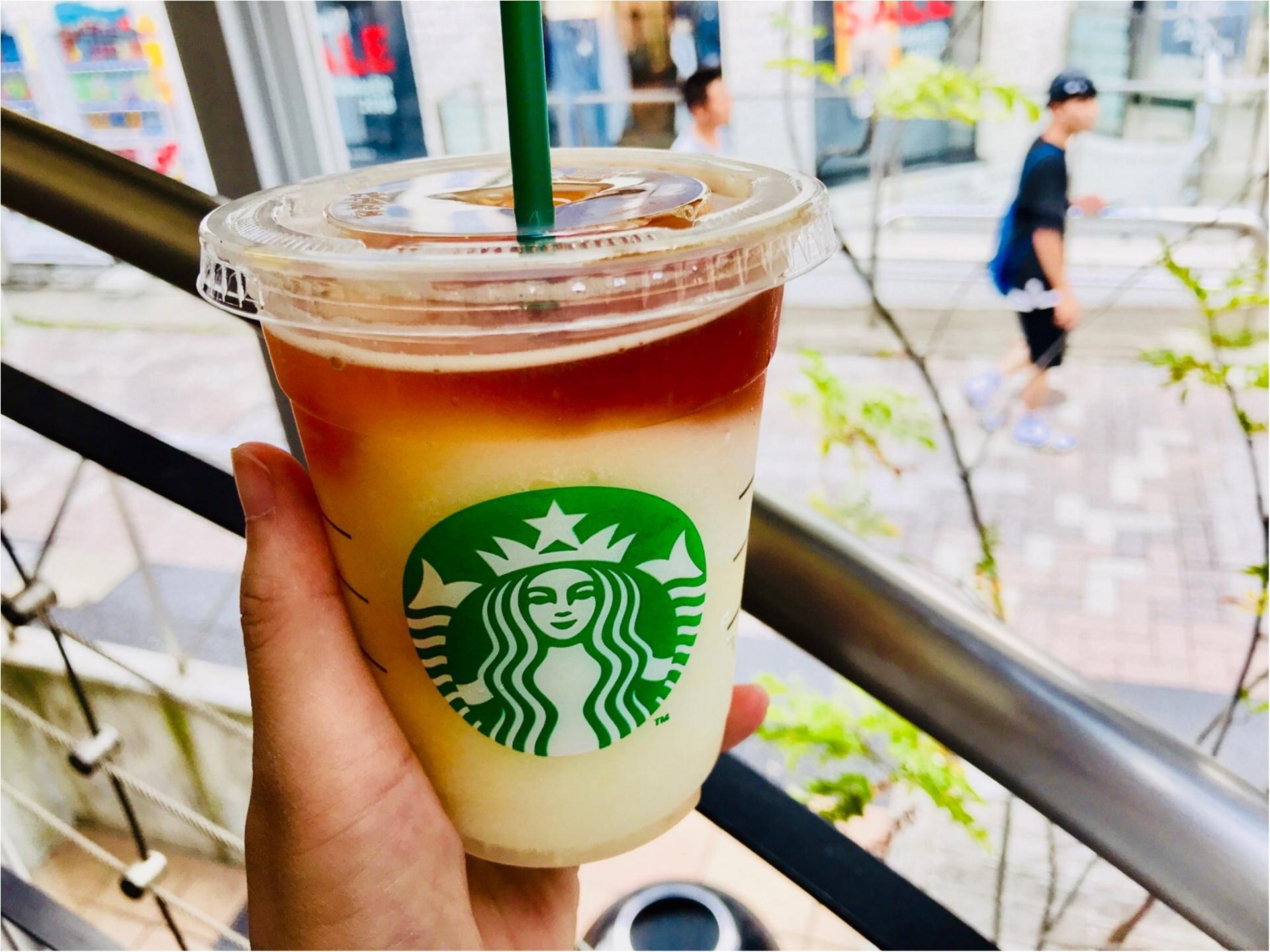 【スタバ】ココでしか飲めない!《フローズンアップルティー》が、美味しすぎる♡♡_1