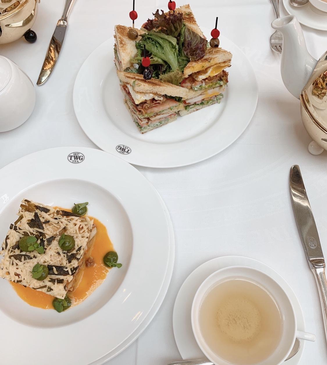 【シンガポール】紅茶が有名なTWG Tea on the Bay でランチ♪スイーツもフードも絶品【マリーナベイサンズ】_2