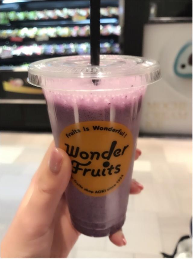 体に良いものは積極的に♩《Wonder Fruits 》のフレッシュジュースで体活き活き♡_1