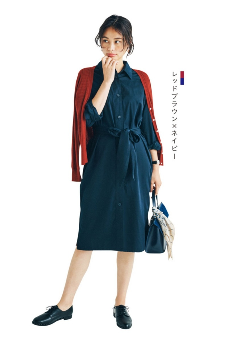 2018年秋のファッション カーディガンまとめ16