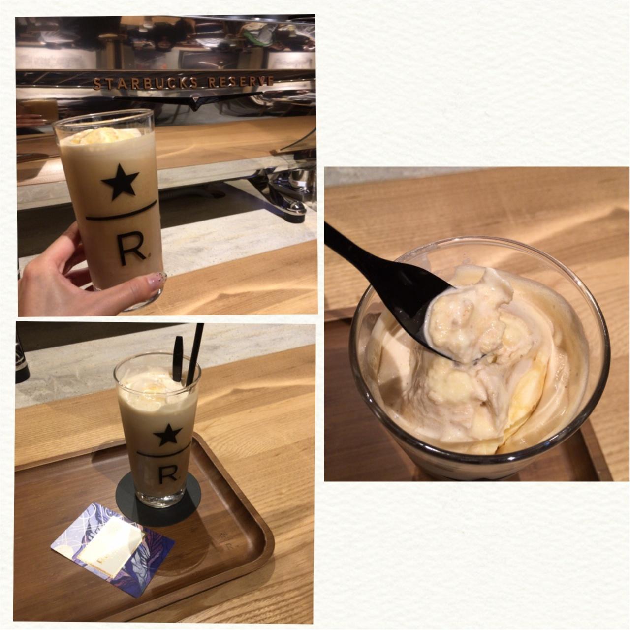 <全国5店舗限定>スタバ流まろやかコーヒーフロート♡ナイトロ コールドブリュー フロートおいしすぎる!♡_4
