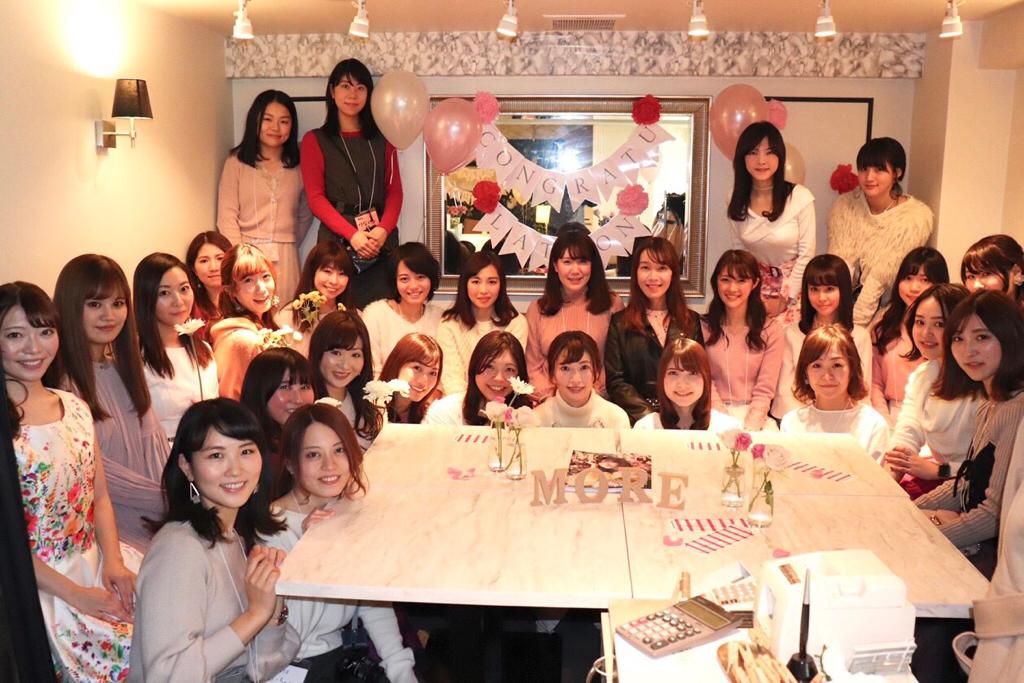 モアハピ部員29人集合@表参道★あのお洒落カフェで《モアハピ女子会》開催♡♡_1
