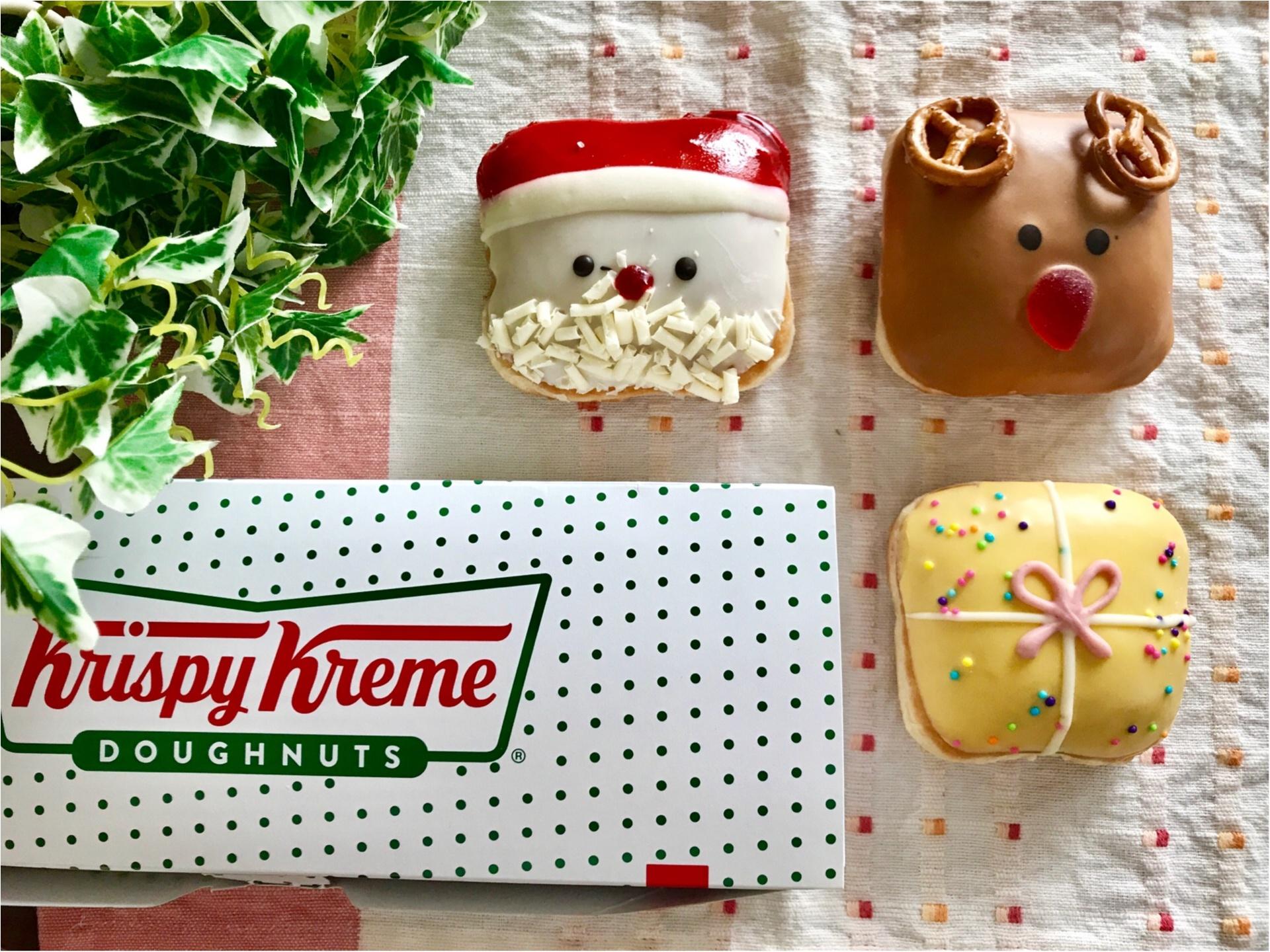 【クリスピークリームドーナツ】クリスマス限定ドーナツが可愛すぎると絶賛の嵐♡_1