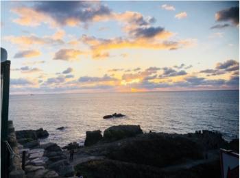 【東尋坊】に行ってきました!日本海は綺麗でした!