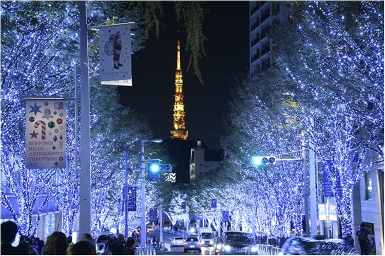 東京都内のおすすめイルミネーション、表参道、恵比寿、お台場etc.11選☆彡_2