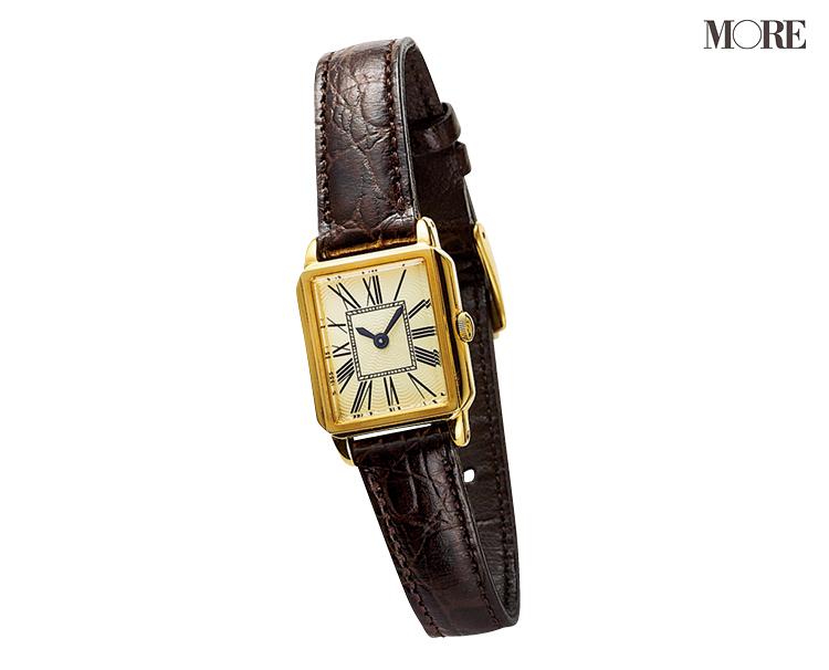 革ベルトの腕時計なら、アクセに似合う、引き立て合う! 「先輩見え」ウォッチで気持ちを上げて_5