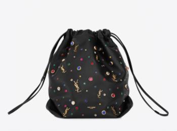 なんと巾着タイプ♡『サンローラン』の新作バッグ「TEDDY」を買わなくちゃ!