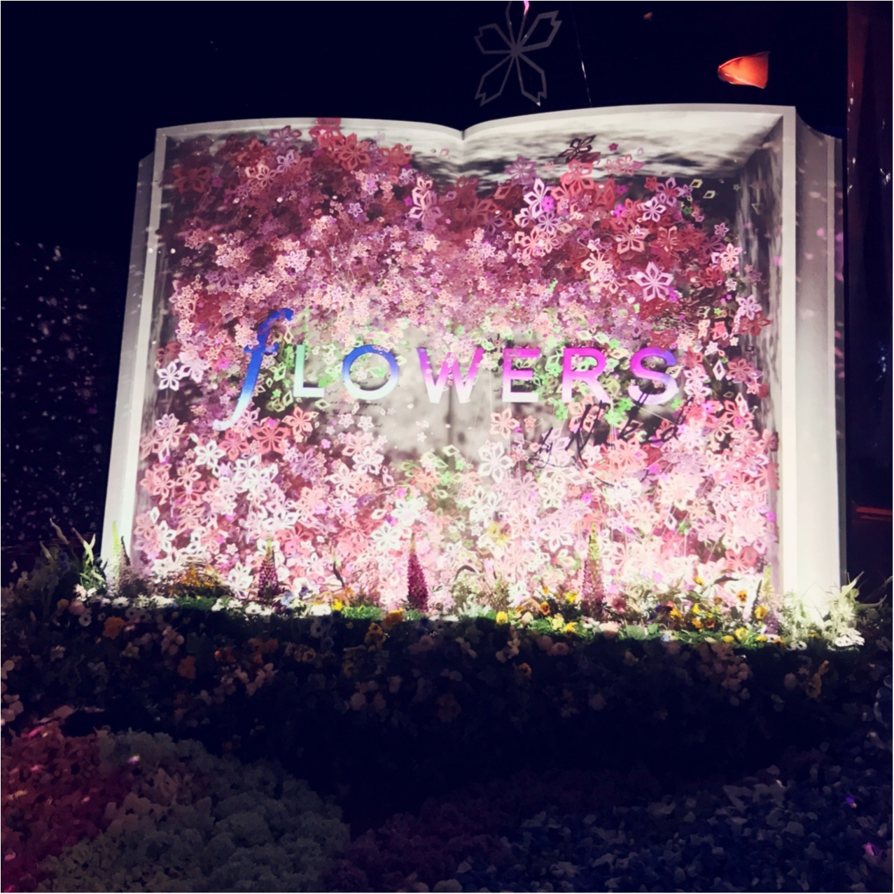 日本で一番早いお花見を、日本橋で。【FLOWERS by NAKED(フラワーズバイネイキッド)】レポ❤︎_2