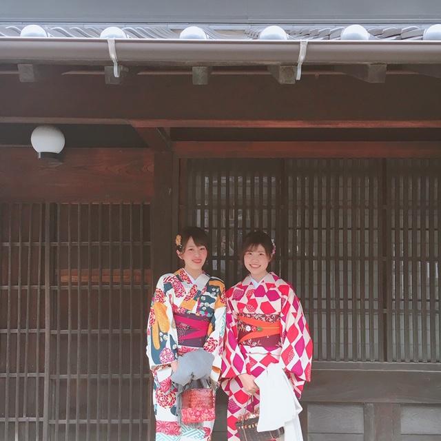 【名古屋】《レンタル着物で》犬山城下町ぶらり旅_1