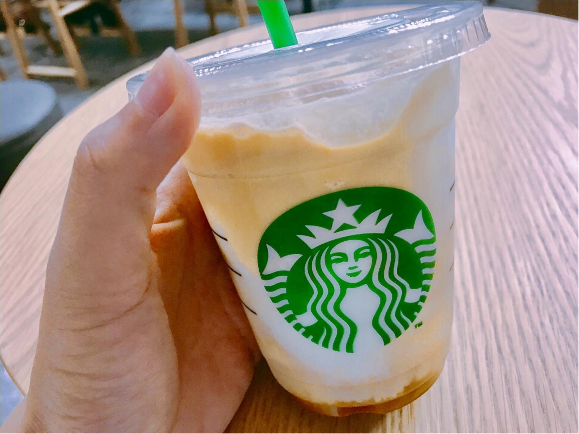 【スタバ】コーヒー好きにはたまらない!スタバ至上最もエスプレッソ感の強い《エスプレッソ アフォガート フラペチーノ》が新登場❤︎なんと今回は全サイズ対応!カロリーが気になる方も◎_4
