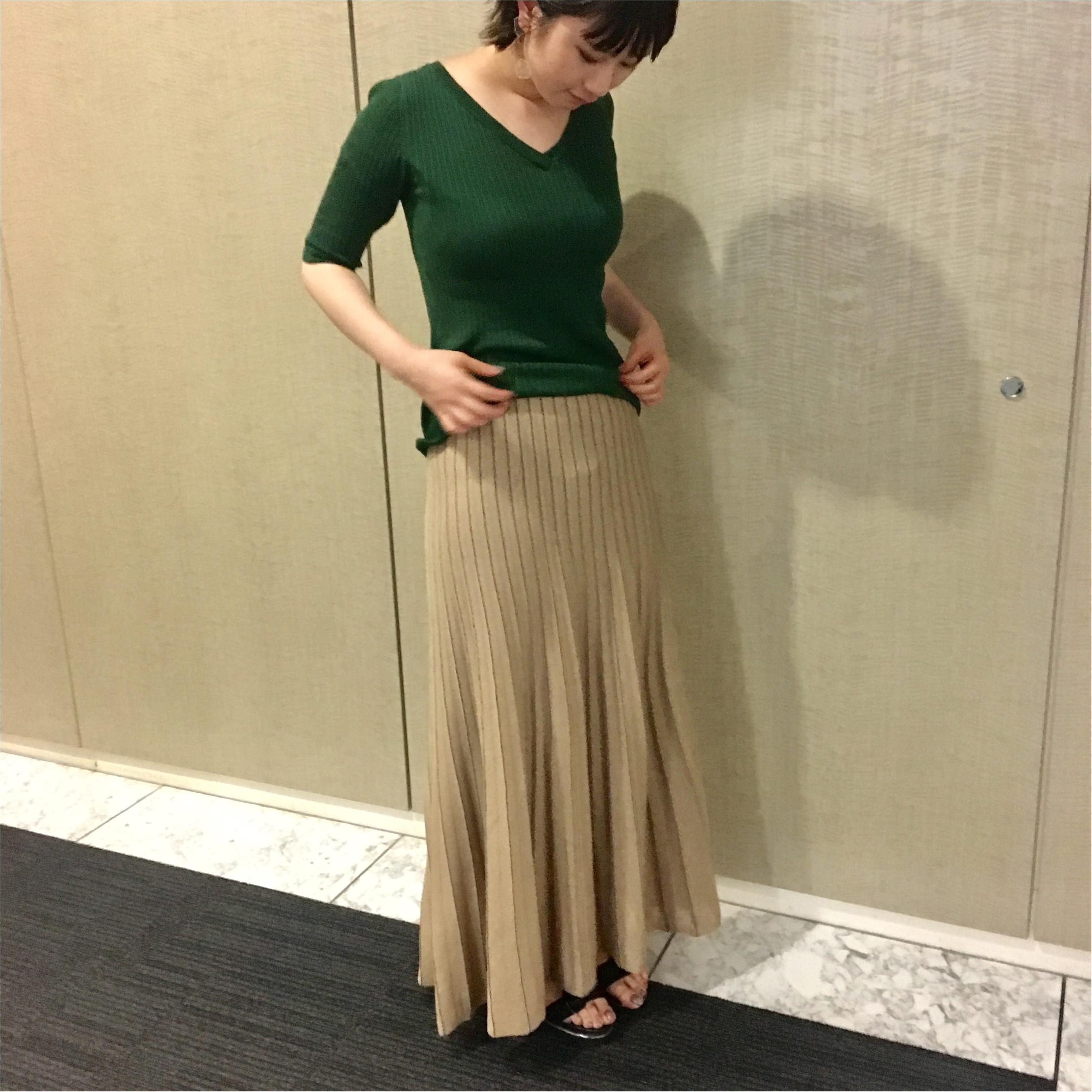 【コレ買っちゃいました!】『ミラ オーウェン』のスカート&『MACHPEE』のトップス_1