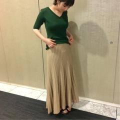 【コレ買っちゃいました!】『ミラ オーウェン』のスカート&『MACHPEE』のトップス