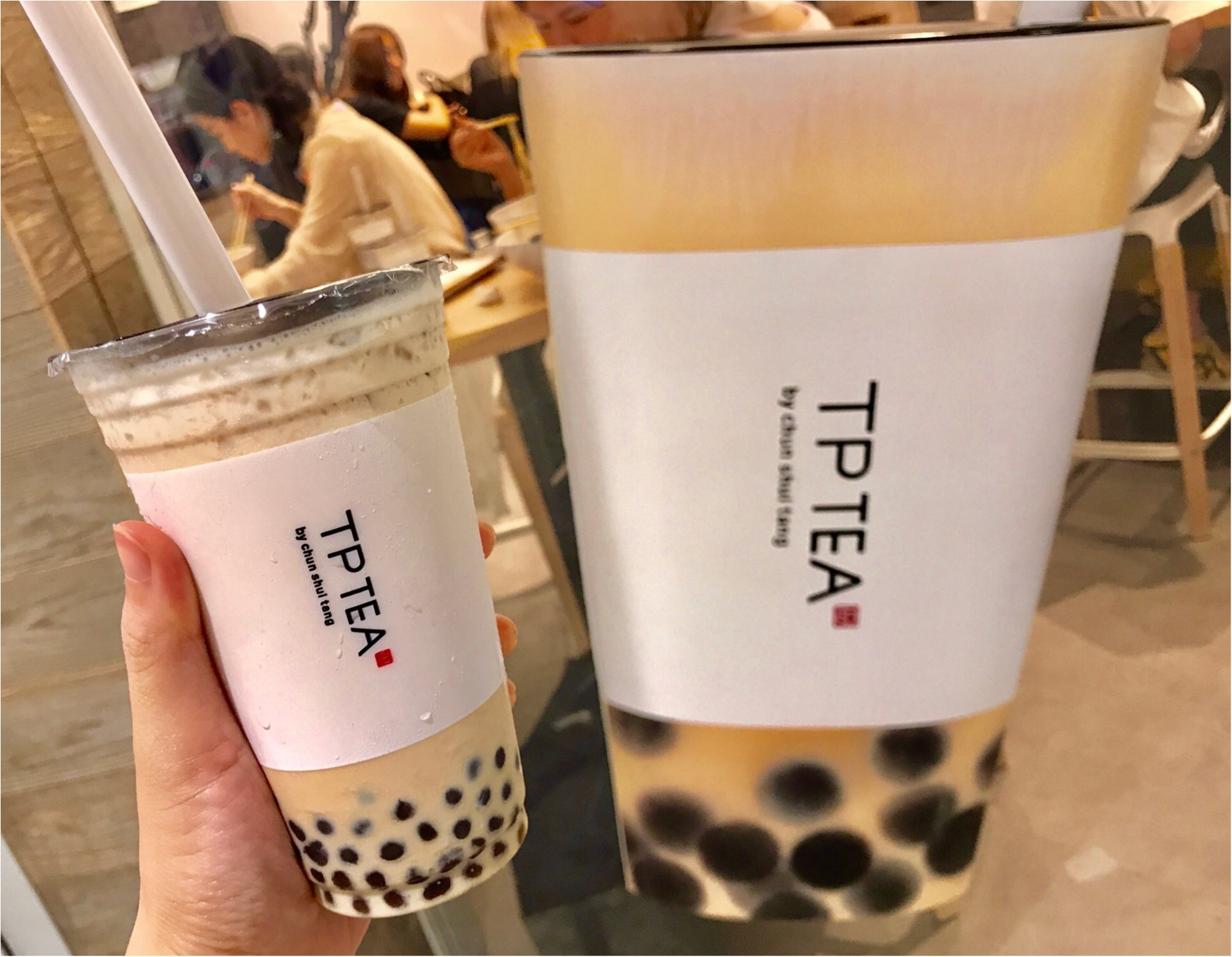 日本初上陸!春水堂のティースタンド【TP TEA】タピオカミルクティーが絶品♡_1