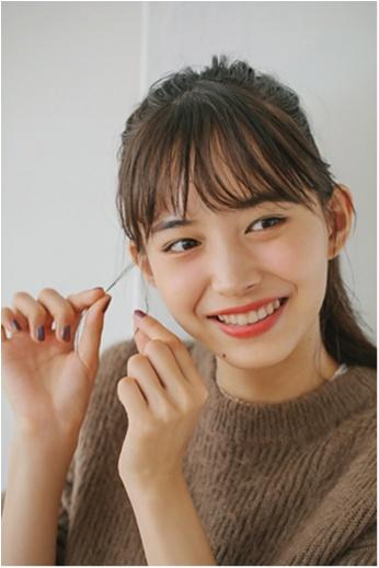 """鉄板モテヘアを今年Verに♡ """"ミルク""""でつくる、最旬やわつやポニーテール!_3_3"""