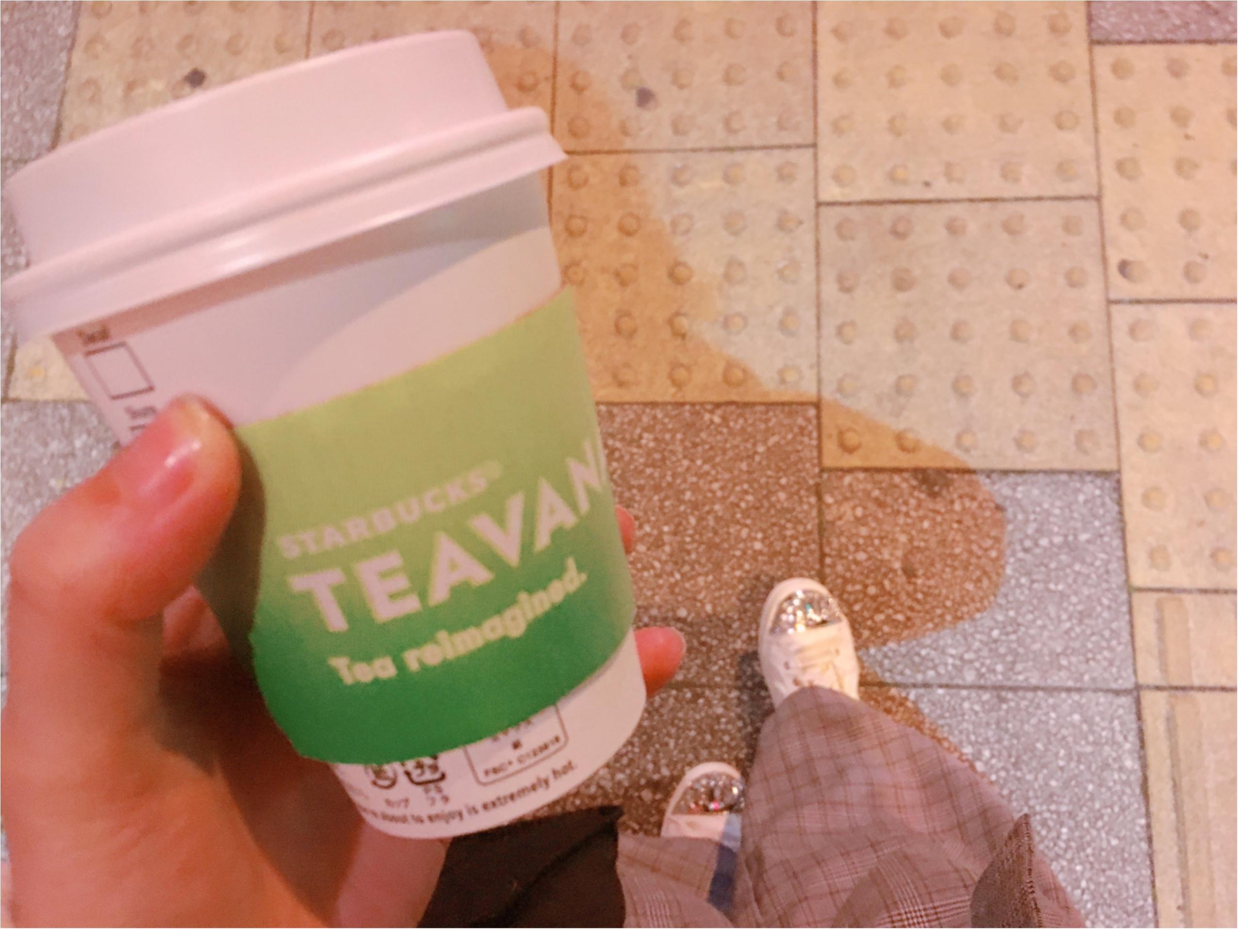 【スタバ】紅茶派さんにオススメ!ロイヤルミルクティー風0円カスタム&TEAVANA新カードがかわいい♡_1