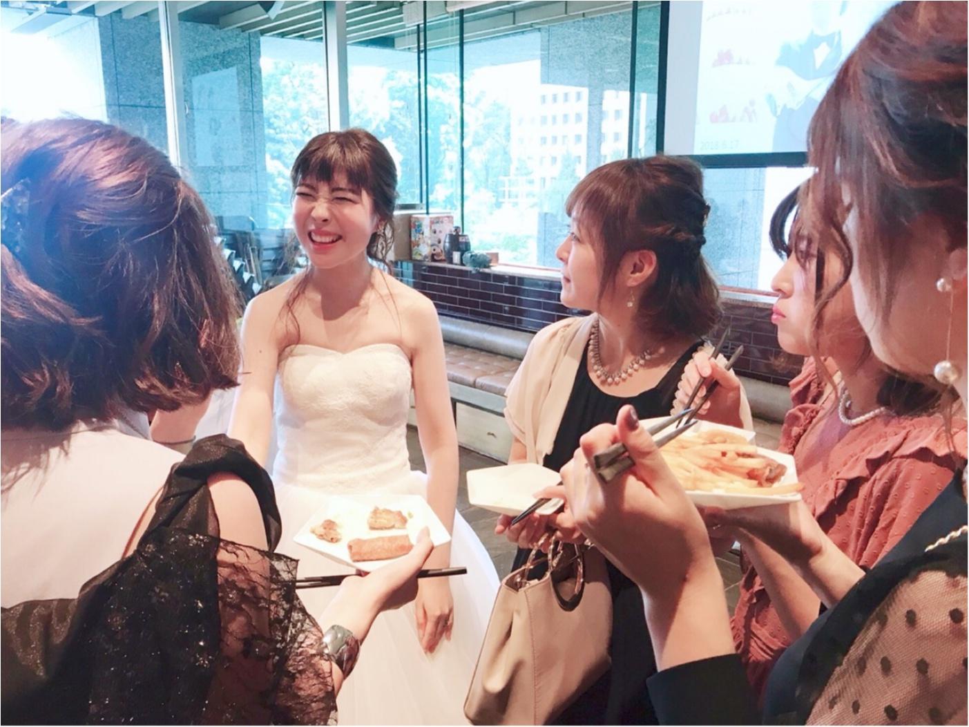 【二次会】MOREインフルエンサーNo.600 asuちゃんの結婚式レポ❤︎_2