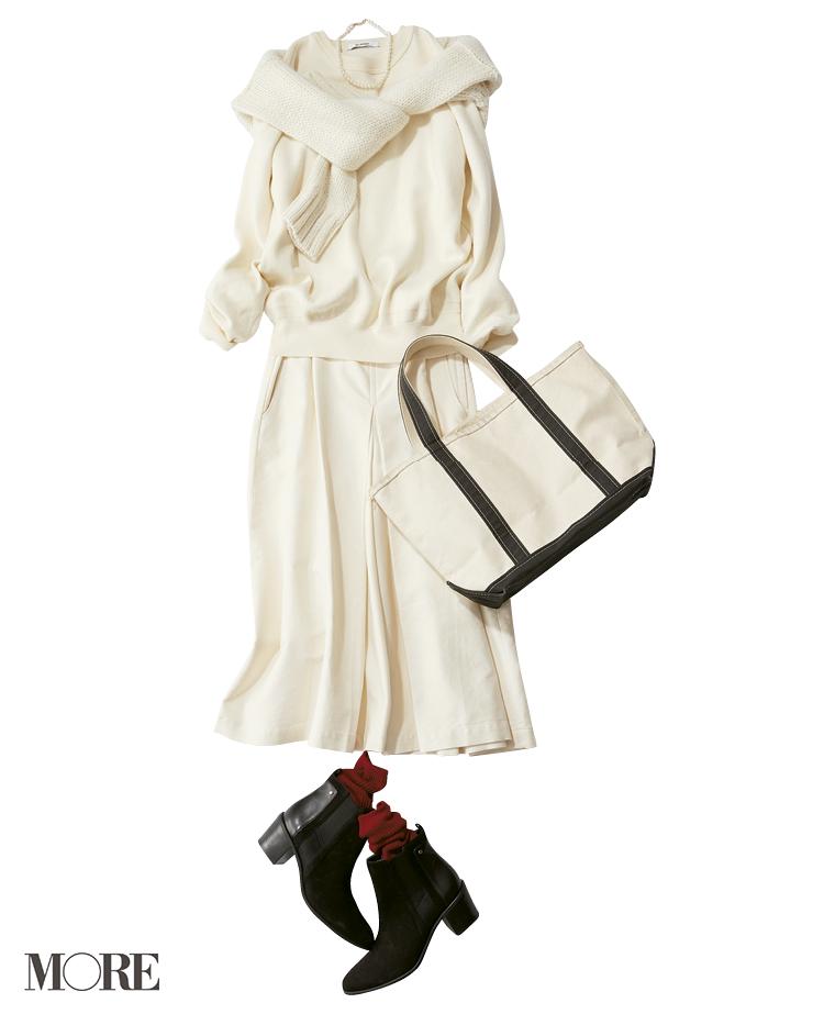 何気ないコーデをちょっと特別にしてくれる【冬の白】コーデ見本   ファッション(2018年編)_1_6
