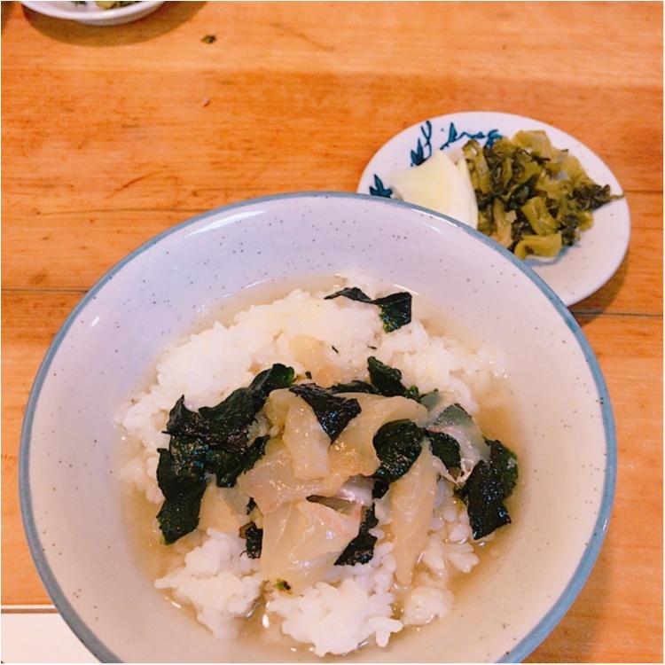 【ご当地MORE福岡グルメ】福岡で有名な鯛茶漬けを食べに行ってみた♥_2