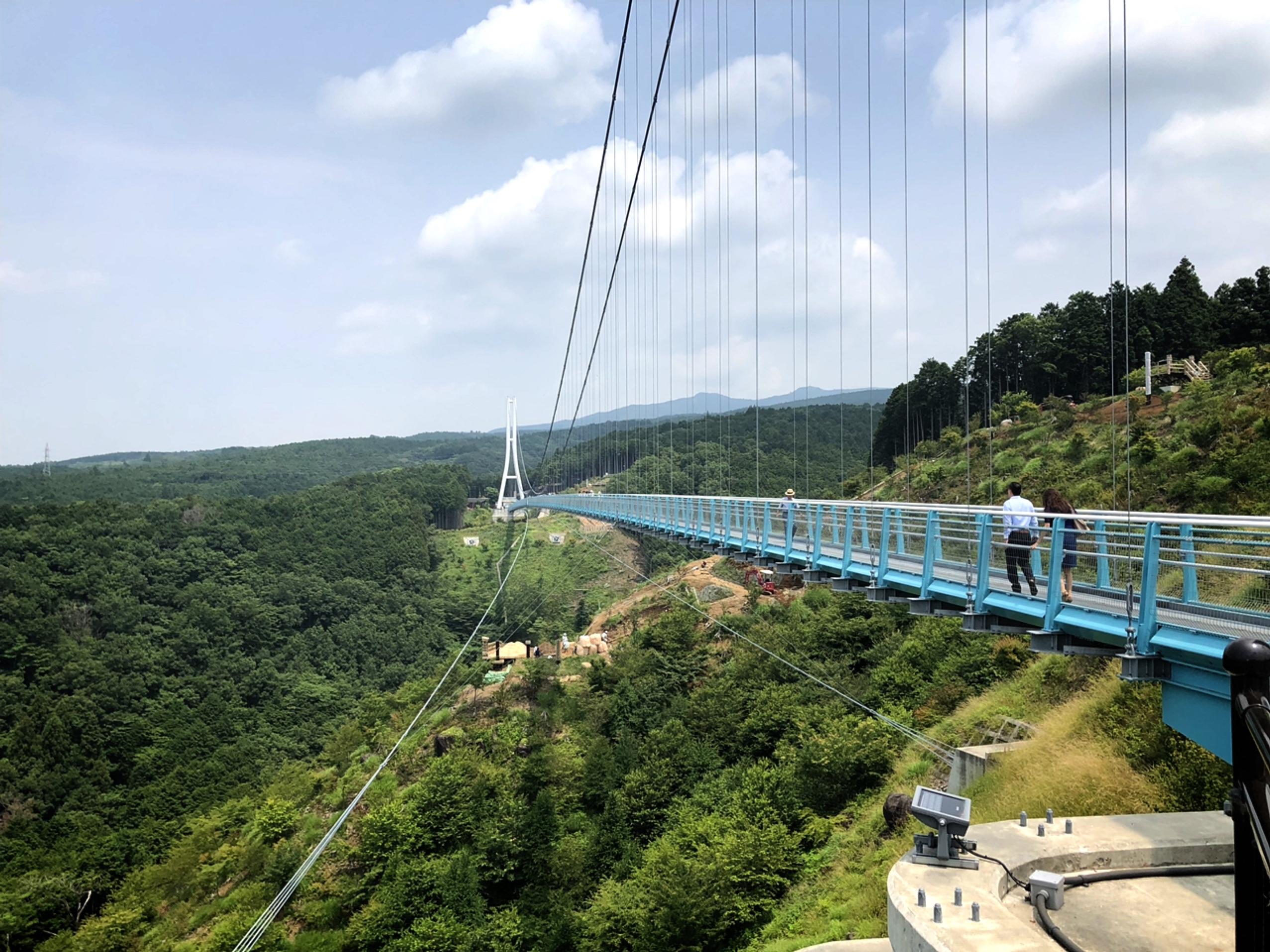 【静岡・三島】箱根のすぐ近く♩日本一長い吊り橋「三島スカイウォーク」に行ってきました!_2