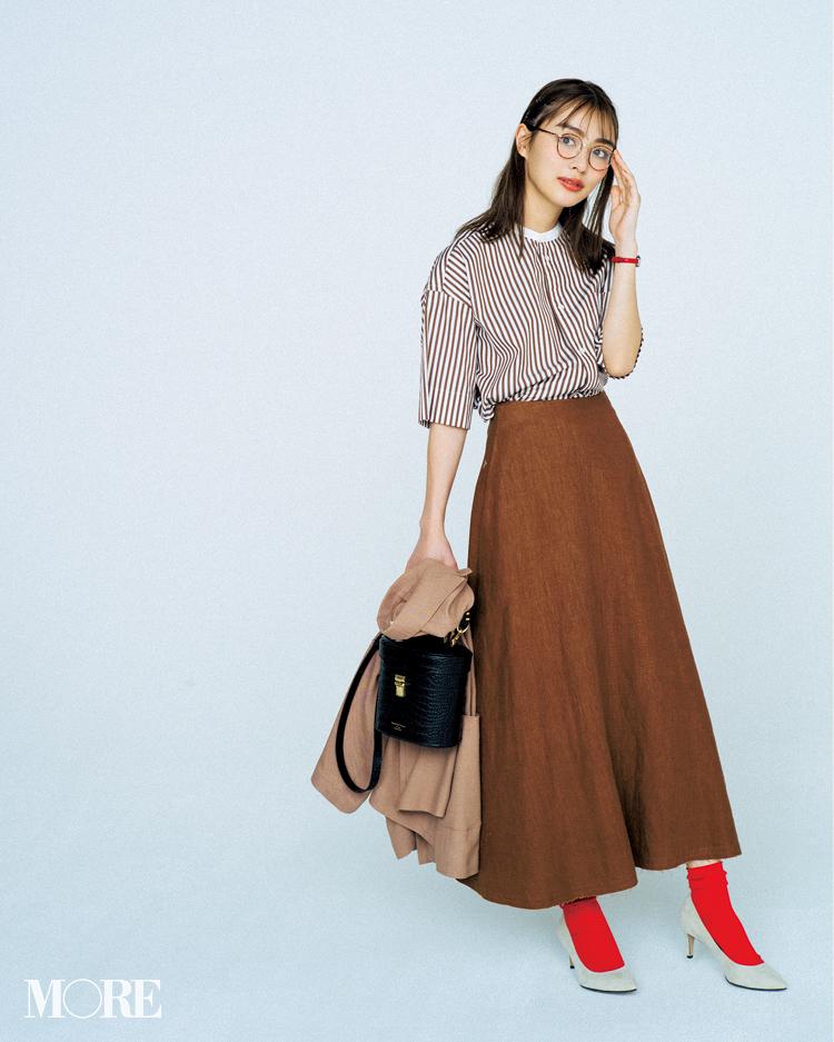 カジュアル服でもきちんと見えるコツ、知ってる? 答えは「赤をさす」、のたったひと手間!記事Photo Gallery_1_4