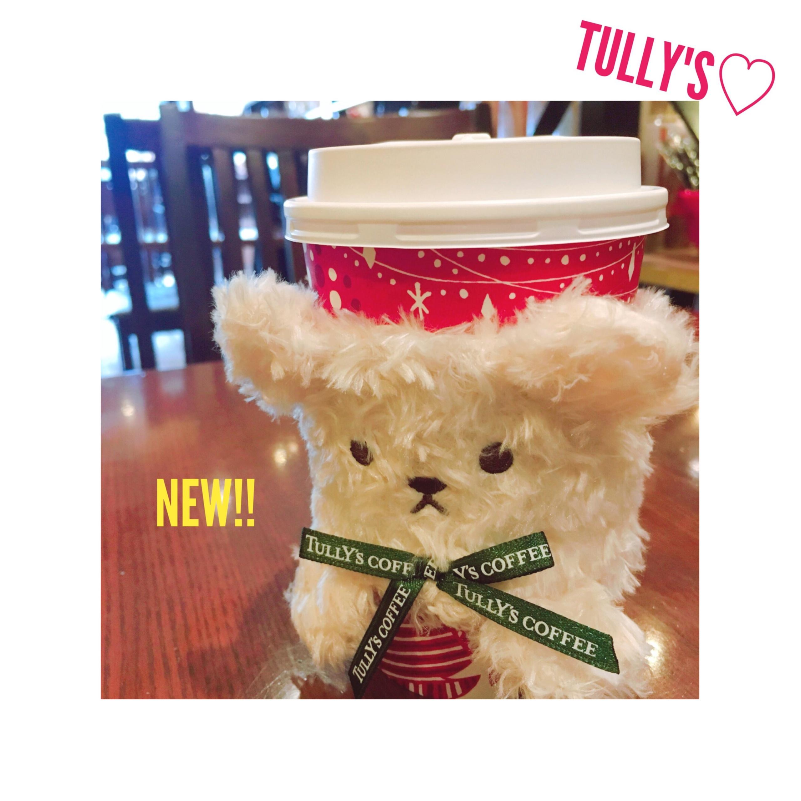 《本日11/29〜のシーズナルdrink★》【TULLY'S】の〝ふわもこ〟ベアスリーブが可愛すぎる❤️シュトーレンラテが登場!_3