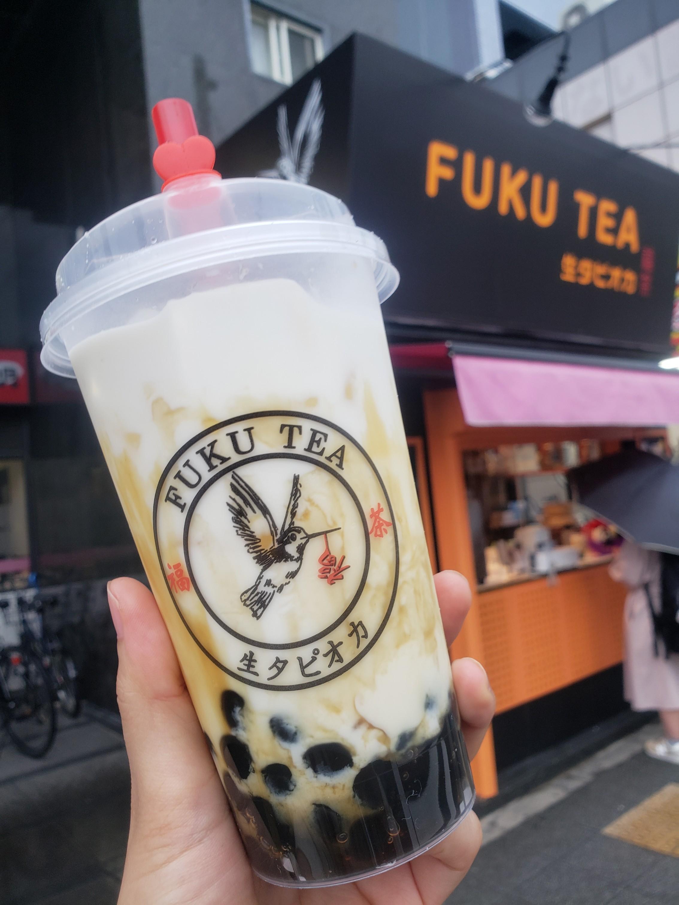 大阪で1店舗の「FUKU TEA」の生タピオカが美味しすぎる!!_1